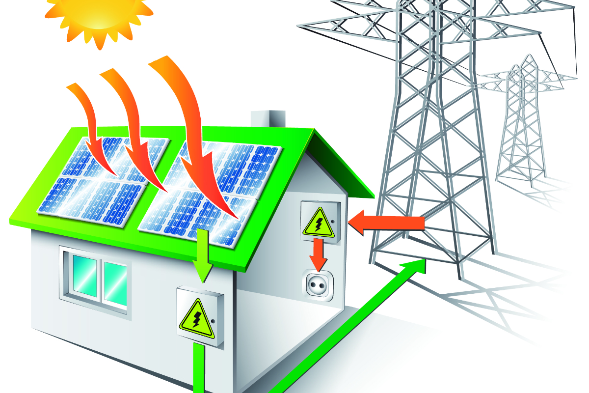 circuit werking zonnepanelen