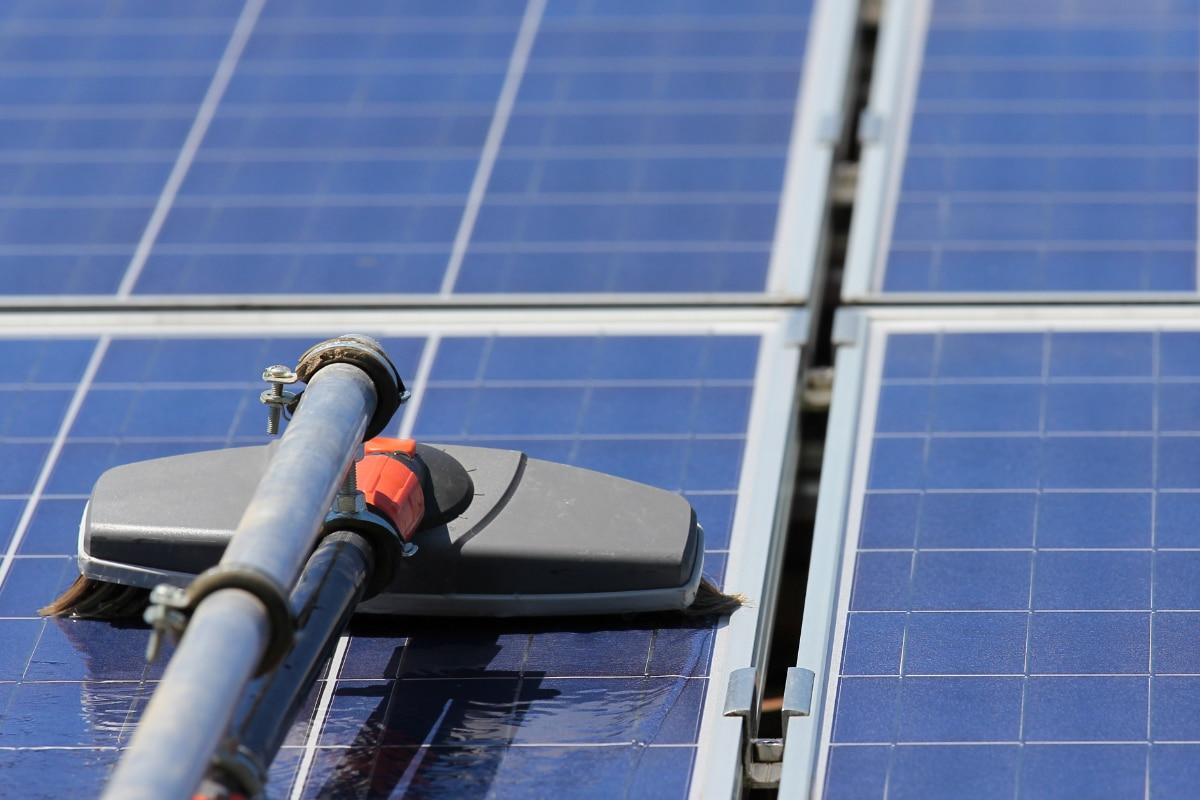 onderhoud van zonnepanelen