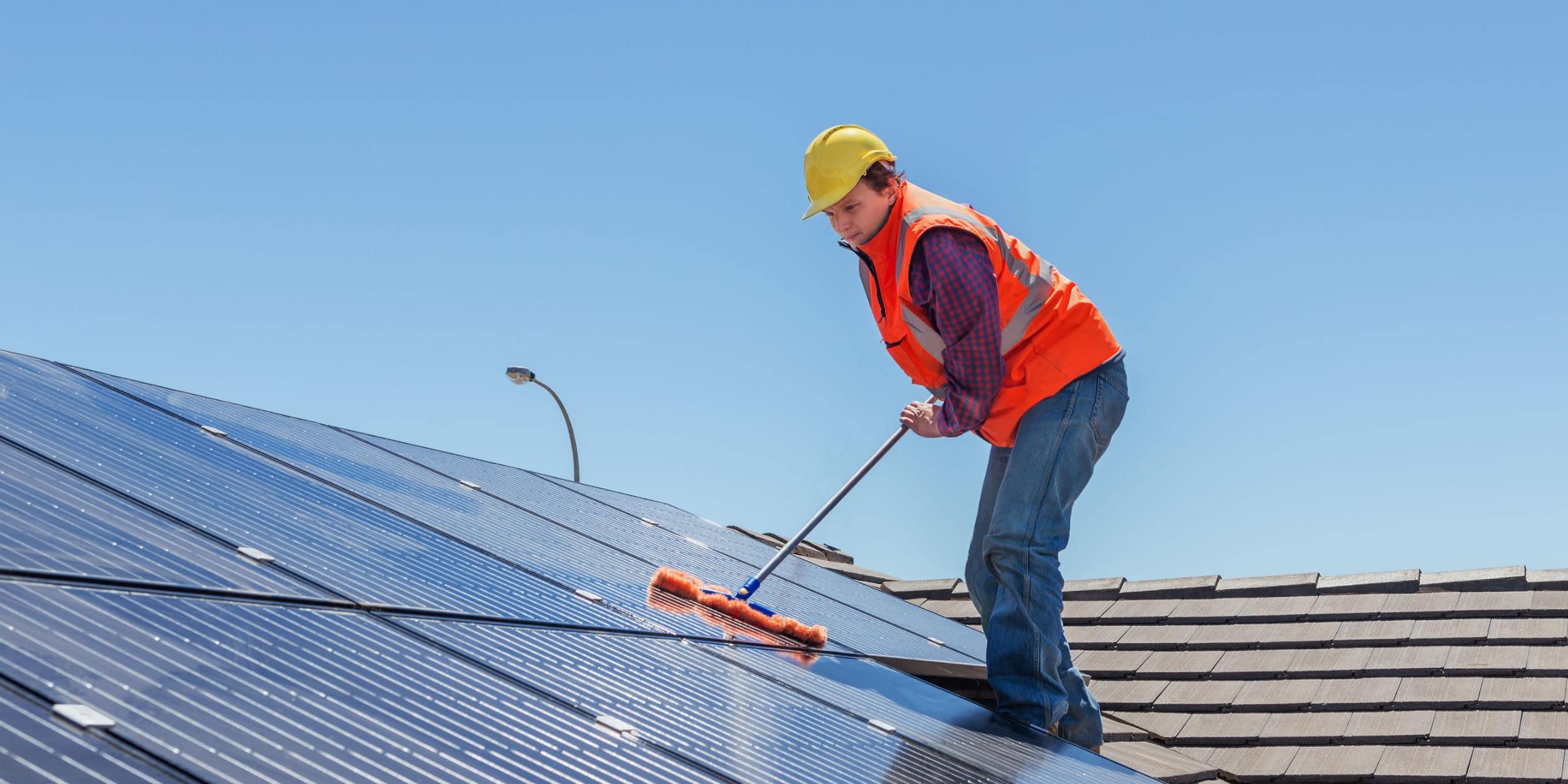 zonnepanelen onderhoudscontract